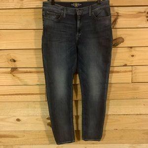 Lucky brand skinny jeans size 12 Brooke legging